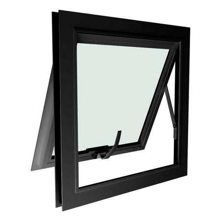 Janela de aluminio preto preço