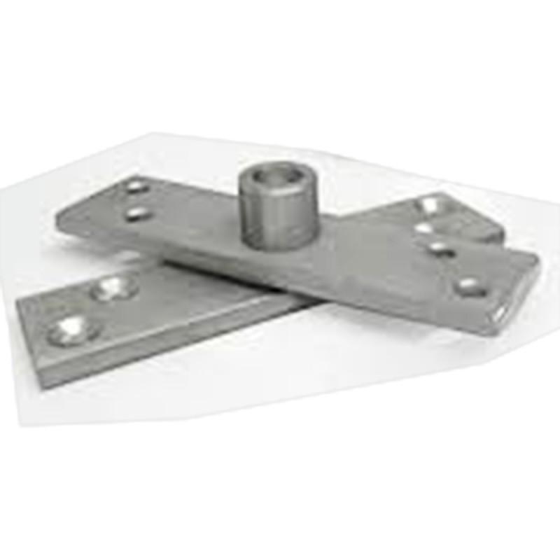 Kit pivotante para porta de aluminio